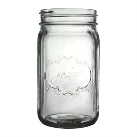 Vintage Glass Jar – Clear