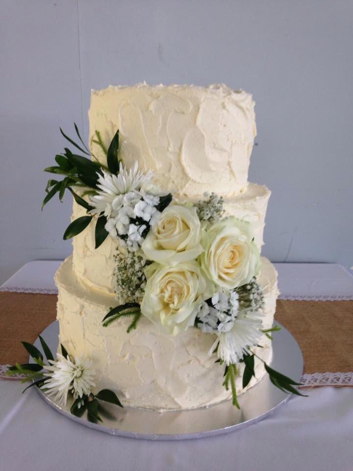 Cake Topper White